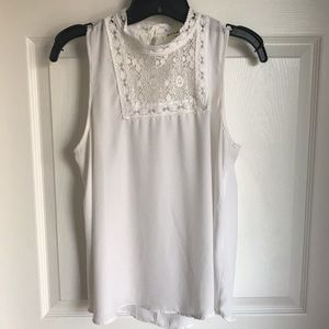 Decorative white blouse